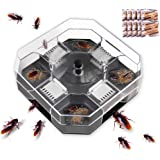 Cockroach Trap, Cockroach Catcher, Outlines Effective Cockroach Killer Bait, Washable and Easy to Clean No Pollution Cockroac