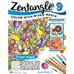 Zentangle 9: Color With Mixed Media