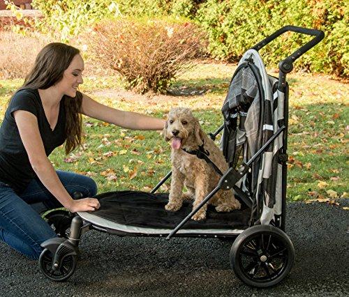 Pet Gear No-Zip Expedition Zipperless Entry Boysenberry Pet Stroller 5