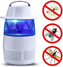 BLAPOXE Mosquito Killer Night Light,Smart Optically Controlled Insect Killing Lamp,Fly Insect Bug Mosquito Kill Zapper Killer USB Fly Trap