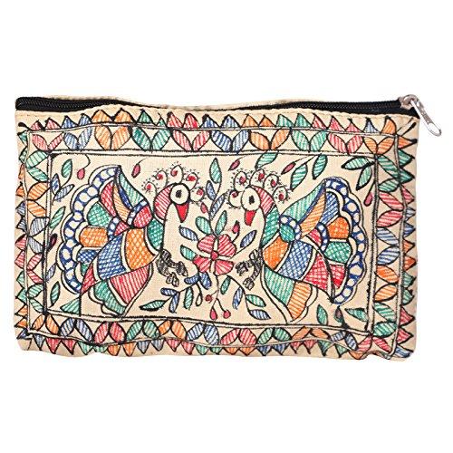 iMithila Mithila Folk Art Casual, Ethnic and Jeanswear Madhubani Handpainted Pure Tussar...