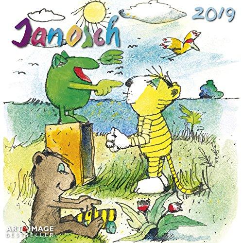 Janosch 2019 - Kinderkalender, Oh wie schön ist Panama, Kalender für Kinder, Broschürenkalender  -  30 x 30 cm