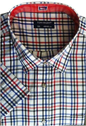 676d257b Kentex Online Mens Short Sleeve Check Shirt Big Sizes 3XL 4XL 5XL ...