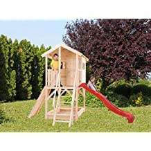 Casitas De Madera Caseta de jardín para niños de madera de abeto Alida 15 mm-