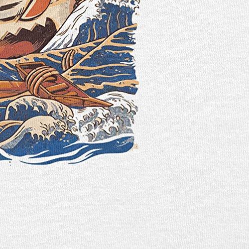 NERDO - The Great Ramen - Herren T-Shirt Weiß