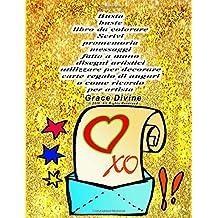 Busta buste libro da colorare Scrivi promemoria messaggi fatto a mano disegni artistici utilizzare per decorare carte regalo di auguri o come ricordo per artista Grace Divine
