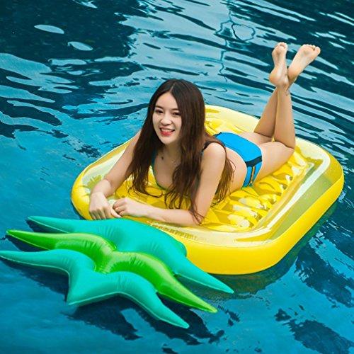 Ananas Luftmatratze Pool Ananas Aufblasbar, Aufblasbare Ananas für Erwachsene & Kinder