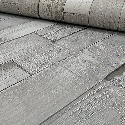 exclusive-arthouse-driftwood-panel-pattern-wood-faux-effect-wallpaper-grey-666601