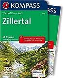 Zillertal: Wanderführer mit Extra-Tourenkarte 1:50.000, 55 Touren, GPX-Daten zum Download (KOMPASS-Wanderführer, Band 5631) - Wolfgang Heitzmann