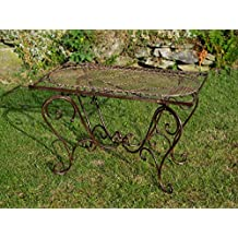 Tavolo ferro battuto giardino for Panchina ferro battuto amazon