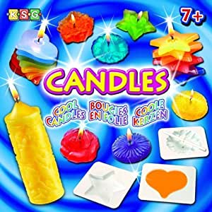Ksg Arts and Crafts Cool Candles Candle Making Kit by ksg