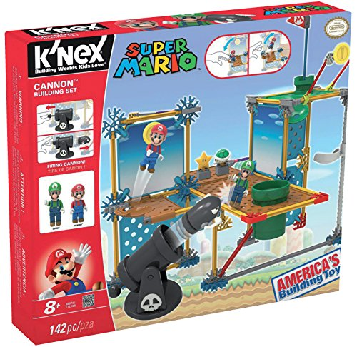 K'NEX Super Mario Set de construcción Deluxe Gran Cañón, 142 piezas (Fábrica de Juguetes 41014)