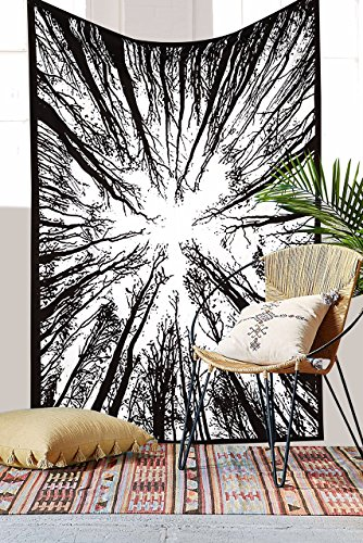 exclusif-criquet-arbres-foret-tapisserie-unique-collection-par-rawyal-crafts-hippie-mur-tapisseries-
