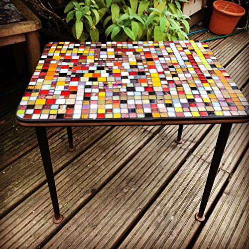 Lazarus Butterbean mosaic coffee table