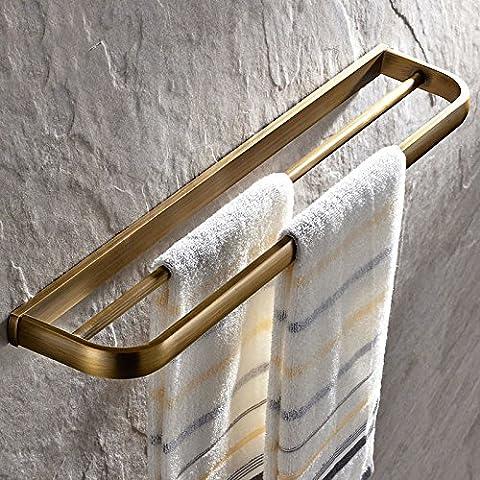 Cuarto de baño toallero estante de acero inoxidable bañera colgantes de estilo contemporáneo Toalla de mano Soporte