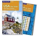 POLYGLOTT on tour Reiseführer USA - Der Osten: Mit großer Faltkarte, 80 Stickern und individueller App