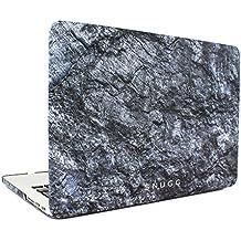 """Macbook Pro Custodia, Snugg Apple Macbook Pro Retina 15"""" Cover Case [Deluxe Satin Touch] Design Compatto Ultra-Sottile - Ardesia"""