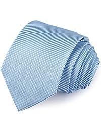 Vbiger Corbatas de Hombre 4 in 1 con 100% Poliéster