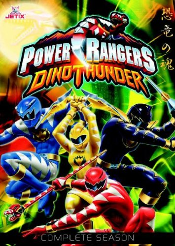 Power Rangers Dino Thunder - Die komplette Staffel [8 DVDs]