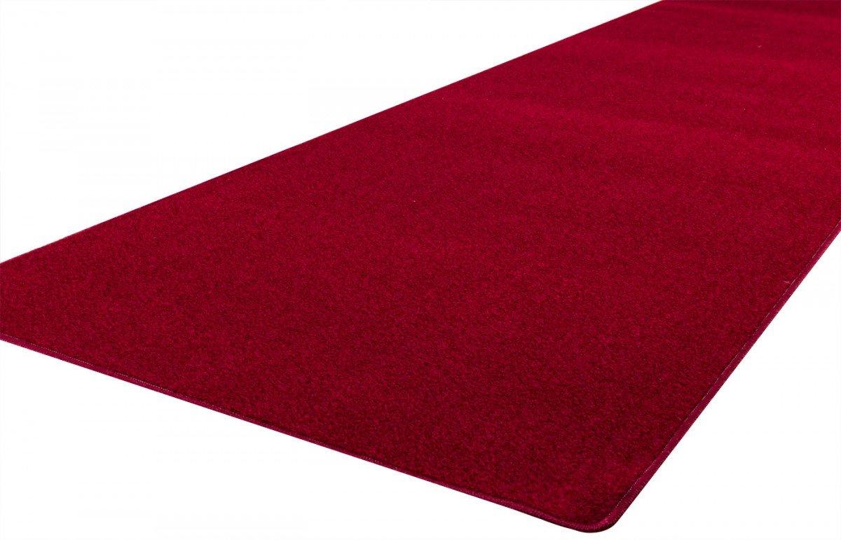 Teppich rot  havatex: Teppich Schlingen Läufer Trend Rot / Geprüfte Qualität ...