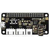 KEYESTUDIO ReSpeaker 2 Mic Pi Hat pour Raspberry Pi 4 V1.0 Carte d'extension pour Raspberry Pi 4 Module B   zéro   zéro…