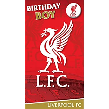 Liverpool Fc Liverpool Fc Liverbird Musical Birthday Card Amazon
