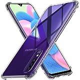Peakally Cover per Samsung Galaxy A30s / A50 / A50s, Trasparente Morbida TPU Silicone Custodia [Ultra Sottile][AntiGraffio][A