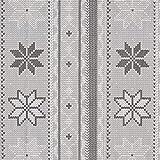 Fabulous Fabrics Canvas Winterliches Strick Muster -