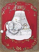 Lussuosa scatola Me to You mano extra large cartolina di Natale per il mio fidanzato