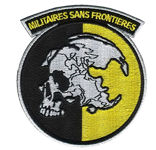 Sans Frontieres Militaires Metal Gear Solid Snake Cosplay Patch in gomma