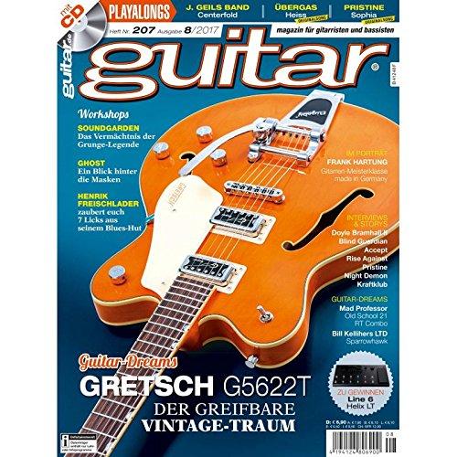 Gretsch G5622T Der Vintage Traum - guitar Magazin mit Play along CD - Interviews - Workshops - Gitarre Playalongs - Gitarre Test und Technik