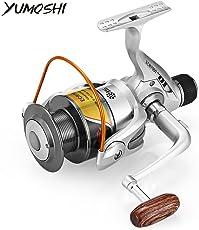 Zorbes YUMOSHI 12BB 5.5:1 Foldable Metal Fish Spinning Reel