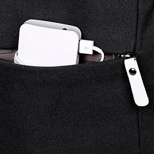 Tela tinta unita zaino bag/Medio e borse scuola degli studenti delle scuole superiori/Borse di moda tempo libero viaggio/Borsa porta computer-C A