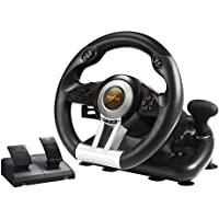 PC Racing Wheel, PXN V3II 180 Degree Universal Usb Car Sim Race Steering Wheel with Pedals for PS3, PS4, Xbox One, Xbox…