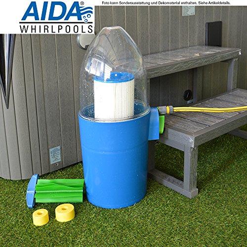 Estelle Filter Reinigungssystem für Whirlpoolfilter und Filterkartuschen bei Outdoor Whirlpool, Jacuzzi, Spa