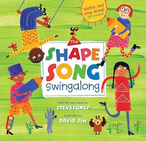 The Shape Song Swingalong PB w CDEX (A Barefoot Singalong)