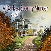 A Dark and Stormy Murder (Writer's Apprentice Mystery, Band 1)