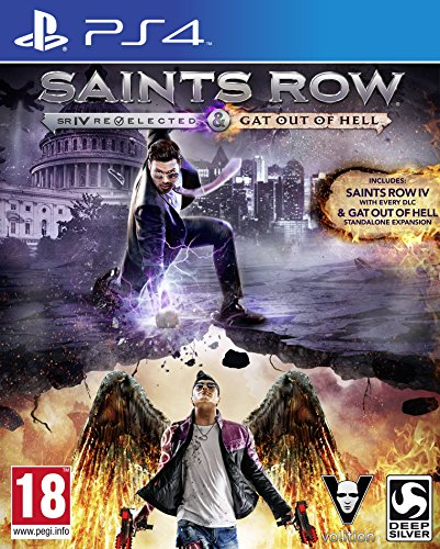 Saints Row IV Re-elected & Saints Row: Gat Out of Hell (PS4)