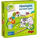 Haba 5580 Meine erste Spielwelt Bauernhof Fädelspiel auf dem Land