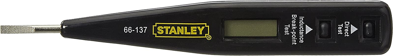 Stanley 66-137 Digital Tester (Yellow and Black)
