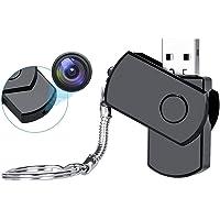 Safety Net Hidden Camera Wireless Mini Spy USB Cam, Ourdoor/Indoor Personal Video Recorder Wearable Small Secret Nanny…