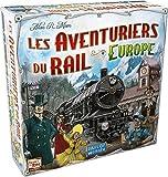 Asmodee - AVE02 - Jeu de Stratégie - Les Aventuriers du Rail Europe - Compatible avec Alexa