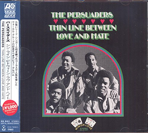Thin Line Between Love And Hate (Japanese Atlantic Soul & R&B Range)