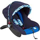 Mee Mee Baby Car Seat Cum Carry Cot with Thick Cushioned Seat (Blue)