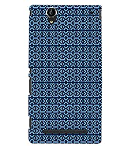 SONY XPERIA T2 PATTERN Back Cover by PRINTSWAG