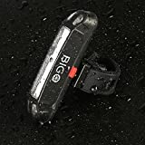 Fahrrad Rücklicht, Fivanus Ultra Hell LED USB Aufladbar Wasserdichte Fahrradlicht Fahrradbeleuchtung Fahrradlampe Aufladbar Fahrradrücklicht Fahrradhelme Lichter mit 6-Modus-Optionen Geeignet für Helm und Fahrrad etc -