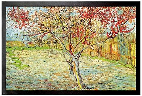 1art1® Vincent Van Gogh - El Melocotonero En Flor, Recuerdo De Mauve, 1888 Felpudo Alfombra (60 x 40cm)