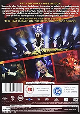 Miss Saigon: 25th Anniversary Performance [DVD] : everything 5 pounds (or less!)