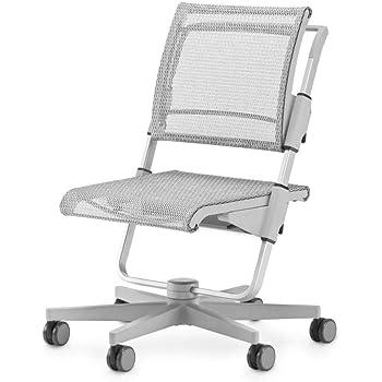 Moll Scooter Kinderdrehstuhl Grau 17 | Sitzhöhe von 28-52 cm | bis 90 kg belastbar