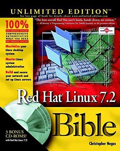 Red Hat Linux 7.2 Bible by Christopher Negus (2001-11-29) par Christopher Negus